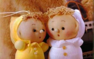 Изготовление кукол из капрона своими руками. Куклы из колготок — мастер-класс