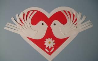 Валентинки своими руками из бумаги в школу. Оригинальные валентинки на стену. Мастер класс по изготовлению открыток-валентинок