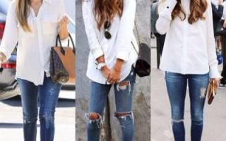 Как разрезать штаны на коленях. Как сделать детские рваные джинсы. Как правильно порвать джинсы: подбираем фасон