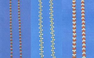 Как сделать фенечки из бисера. Где искать схемы? Плетение с именами
