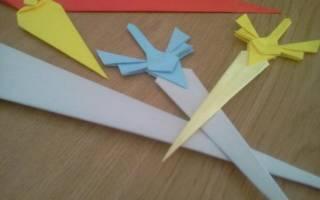 Как сделать из бумаги меч легко. Как из бумаги сделать катану