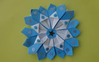 Подарки оригами на новый год своими руками. Как сделать в технике оригами новогодние изделия