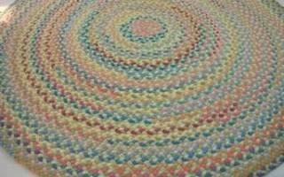 Плетение кружков из тряпок. Вязание ковриков крючком: описание и схемы для начинающих. Разновидности плетения ковриков из лоскутков своими руками