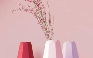 Ваза для бумажных цветов. Мастер-класс по изготовлению вазы из бумаги своими руками. Мастер-класс по созданию вазы с цветами из бумаги своими руками