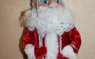 Делаем деда мороза из бумаги. Дед Мороз своими руками из подручных материалов и не только – много идей и мастер-классов