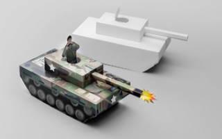 Сделать танк своими руками из бумаги. Как сделать из бумаги простой танк. Самый реалистичный оригами танк из бумаги