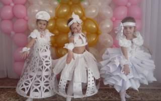 Как сделать платье из бумаги для ребенка. Креативные бумажные платья (фотоотчёт). Мастерим вместе с дочкой платье из бумаги своими руками