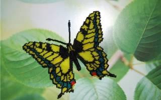Простые бабочки из бисера. Бабочки из бисера: схемы плетения для начинающих. Как сделать бабочку махаон и другие модели? Как сплести бабочку из бисера мозаичным способом