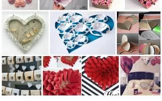 Самые красивые валентинки своими руками из бумаги. Валентинки из конфет. Бумажные объемные сердечки