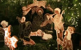 Православный вертеп рождественский своими руками. Рождественский вертеп из бумаги своими руками. Мастер-класс с фото