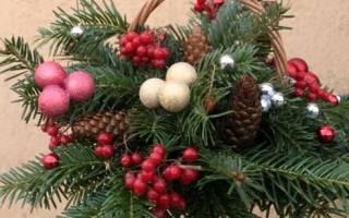 Хвойный букет вместо елки своими руками. Поделка Новогодний букет вместо елки: мастер-классы по изготовлению праздничного элемента декора из шишек, еловых ветвей, бумаги и конфет. Делаем елку на Новый год из шишек сосны