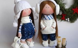 Как делать куклы своими руками из ткани. Мастер-класс от Полины Инякиной. В какой технике можно сделать