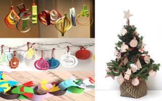 Шаблоны для елочных игрушек из картона. Как сделать красивую елочную игрушку из бумаги