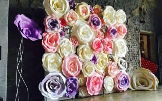 Цветы из бумаги своими руками: схемы и шаблоны. Делаем огромные цветы собственными руками