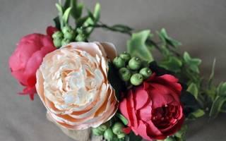 Как делать цветы из фоамирана своими руками. Цветы из фоамирана своими руками: шаблоны и схемы