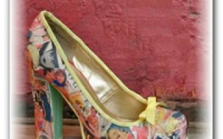 Что можно сделать из старых вещей своими руками. Новое платье или юбка? Необычные туфли декупаж