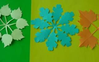 Картинки и аппликации из осенних листьев. Аппликация на тему осень из цветной бумаги в детском саду: шаблоны своими руками и фото изготовления