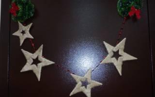 Украшения школы на новый год своими руками. Видео: чем украсить входную дверь к Новому году. А подарки мы не забыли