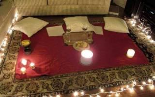 Как сделать мужу романтический вечер дома. Романтический вечер — как сделать его незабываемым