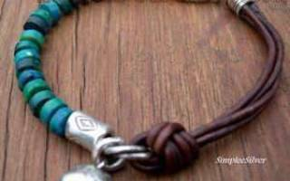 Застежка для браслета своими руками из шнура и из бисера. Застежки для детской одежки