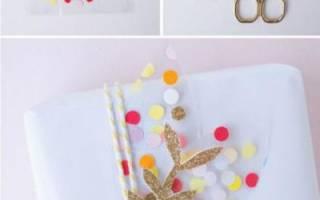 Во что упаковать картину в подарок. Красивая и необычная упаковка подарков своими руками (50 фото)