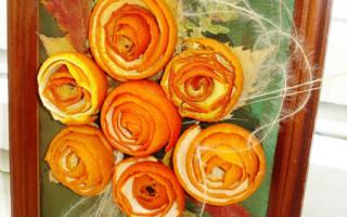 Интересные варианты использования простого апельсина. Как сделать картину из апельсиновых корочек