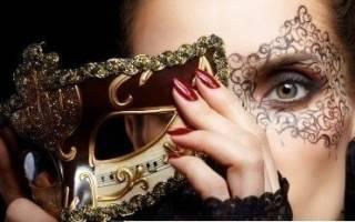 Как сделать маску принцессы на новый год. Шаблоны для новогодних карнавальных масок