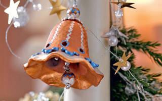 Колокольчик из проволоки своими руками. Как сделать новогодние колокольчики. Колокольчики из бумаги и картона