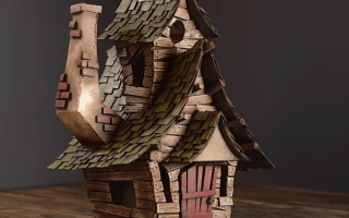 Как сделать коробку домик из бумаги. Как сделать объемный домик из бумаги