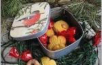 Новогодние бонбоньерки своими руками. Новогодняя бонбоньерка состаренная с набрызгом. Сувениры из необработанного дерева