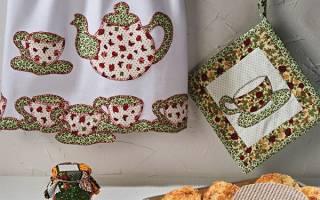 Прихватки рукавицы для кухни своими руками выкройка. Прихватки пэчворк: лоскутное шитье для любимой кухни