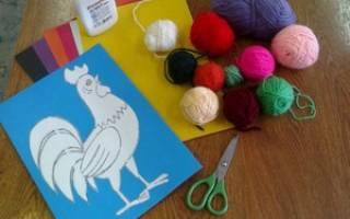Схемы плетения петуха из пеньковых нитей. Петушок из ниток — символ года своими руками