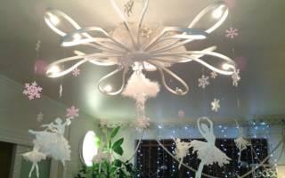 Как сделать красивую снежинку из тетрадного листа. Детская снежинка из бумаги своими руками в технике оригами, мастер-класс. Красивые снежинки-балеринки для гирлянды – шаблоны своими руками
