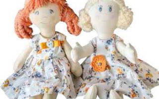 Кукольная одежда своими руками для текстильной куклы. Как сшить одежду для куклы? Одежда для кукол своими руками: выкройки, схемы