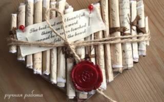 Сердечки из бумаги: мастер-классы, фото и видео. Объемные валентинки своими руками