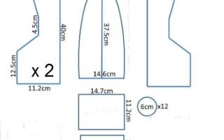 Шаблон кораблика с парусами для вырезания. Кораблик из бумаги своими руками (схемы, шаблоны)