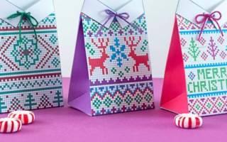 Новогодняя упаковка подарков своими руками – шаблоны, мастер-классы. Оригинальная упаковка подарков своими руками