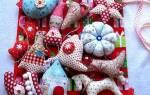 Сшить новогодние игрушки. Новогодние игрушки из ткани своими руками. Хвойная красавица своими руками
