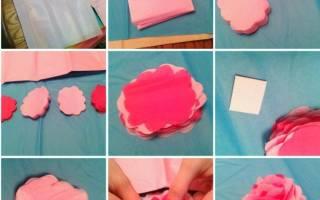 Мк искусственные цветы своими руками. Мастерство изготовления цветов своими руками из различных материалов. метод изготовление ленточных цветов