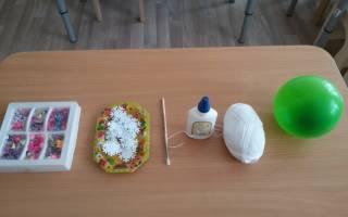 Что можно сделать из ниток и шарика. Мастер-класс «Как сделать шары из ниток и клея ПВА