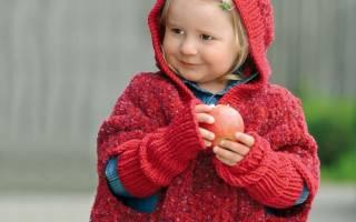 Вяжем оригинальное пончо для девочки своими руками