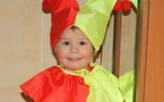 Карнавальный костюм скомороха для мальчика своими руками. Выкройка колпака скоромоха. Шьем колпах скомороха