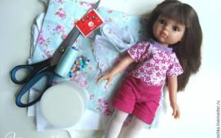 Одежда для интерьерных кукол своими руками выкройки. Одежда для кукол своими руками: летнее платье, очаровательная шляпка. Обувь и одежда для куклы: мастер-класс с фото