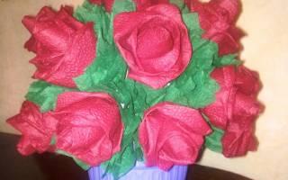 Цветы розы из бумаги. Как сделать розу из бумаги за пару минут