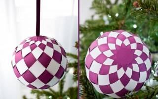 Новогодние игрушки своими руками из бумаги и картона. Как сделать новогодние игрушки на елку из бумаги своими руками