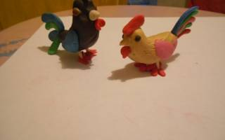 Как сделать игрушку в виде петуха. Петушок из пластилина. Подготовка рук к работе
