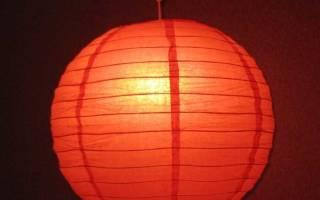 Китайские фонарики своими руками из бумаги поэтапно. Как сделать из бумаги фонарик