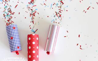 Как сделать новогоднюю хлопушку своими руками. Как сделать хлопушку на Новый год своими руками? Что нужно для создания хлопушки в домашних условиях