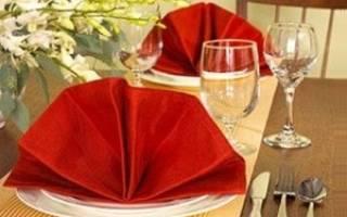 Декоративные салфетки на стол своими руками. Практичные салфетки из ткани своими руками. Материалы и инструменты