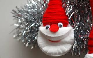 Животные из ватных дисков своими руками. Рождественский венок» из ватных дисков. Цветочный топиарий из ватных дисков
